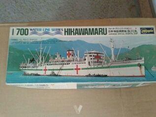 Maqueta barco hospital japones