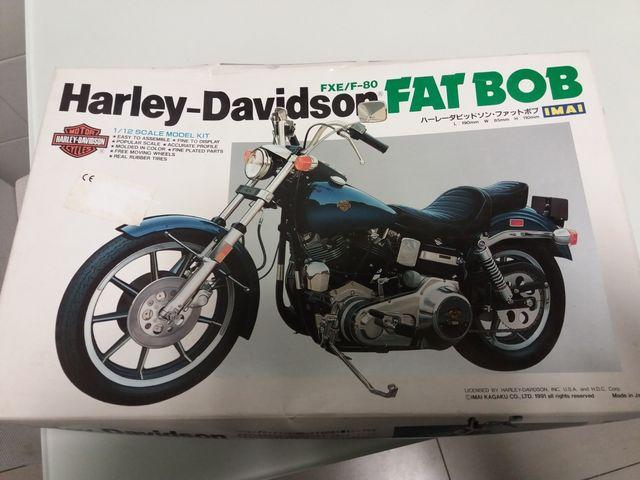 Maqueta moto Harley Davidson Fat Bob