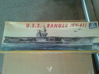 Maqueta portaavions U.S.S. Ranger