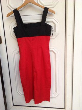 Rojo Basic S De En Por 15 € Villaviciosa Zara T Segunda Vestido Mano QohdtsCxrB