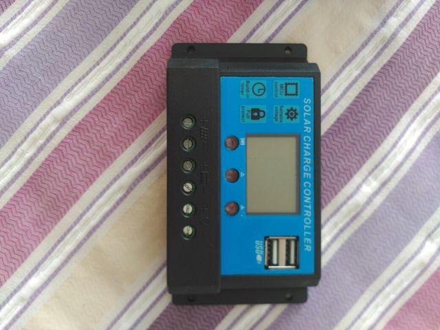 Panel solar 100w + regulador solar