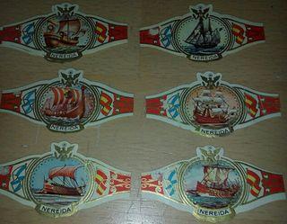 Colección vitolas de puro, años 60 y 70,+de 270