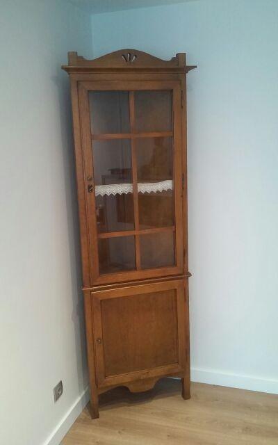 Mueble vitrina rinconera asturias de segunda mano por - Mueble rinconera ...