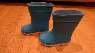 botas de agua bebé