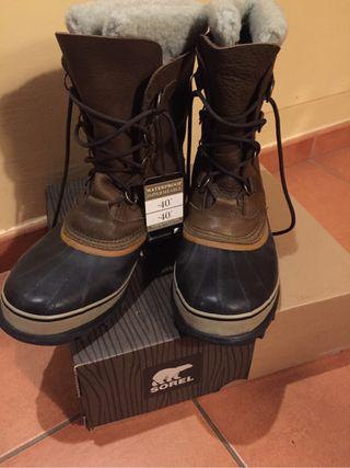 Botas de hombre Sorel Caribou talla 47 nuevas