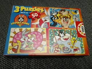 3 Puzzles Infantiles 50 piezas