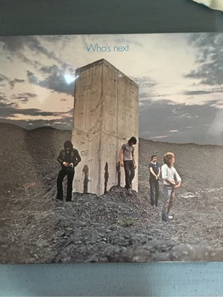 The Who vinyl sous blister original