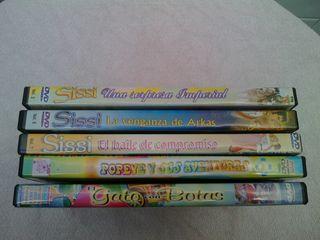 Lote Películas infantiles dvd