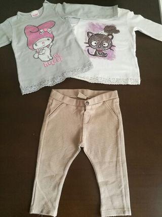 ropa niña talla 9-12 meses