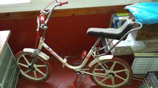 Bicicleta antigua Torrot Trial Plegable