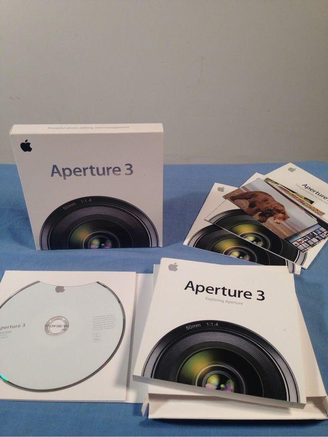 Aperture 3 Apple.