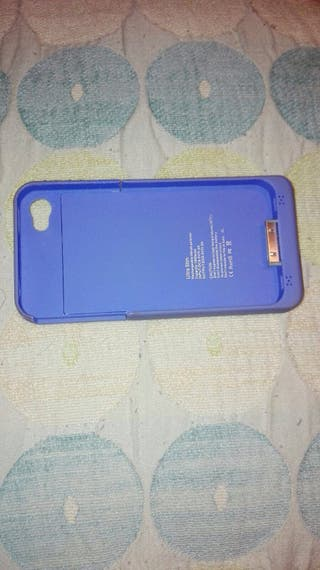 Carcasa protectora con bateria iPhone 4