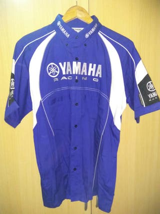 Camisa Paddock Azul Yamaha Original