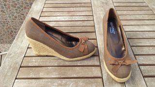 zapatos cuña ideal flamenca