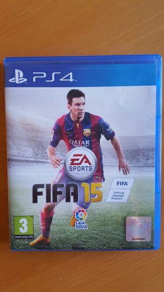 juego Fifa 15 ps4