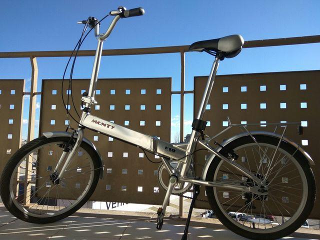 Bicicleta plegable Monty F19