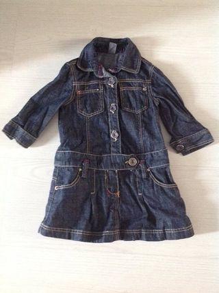 Vestido zara talla 2-3 años