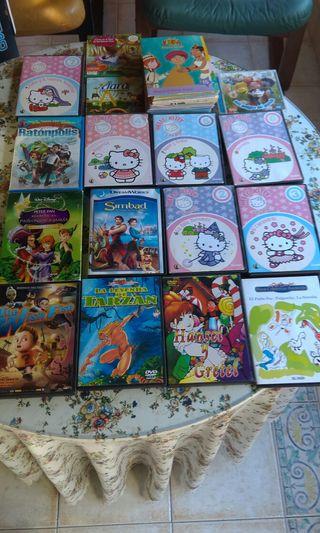 Colección de 37 películas y episodios infantiles