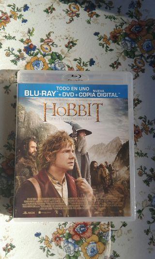 blu Ray el hobbit un viaje inesperado