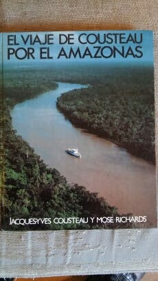 Cousteau libro Amazonas