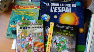 libros Geronimo Stilton catala