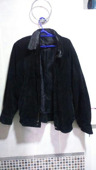 chaqueta vintage negra