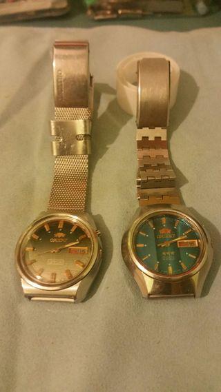 relojes originales Orient vintage. No negociable