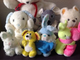 Lote peluches 5€