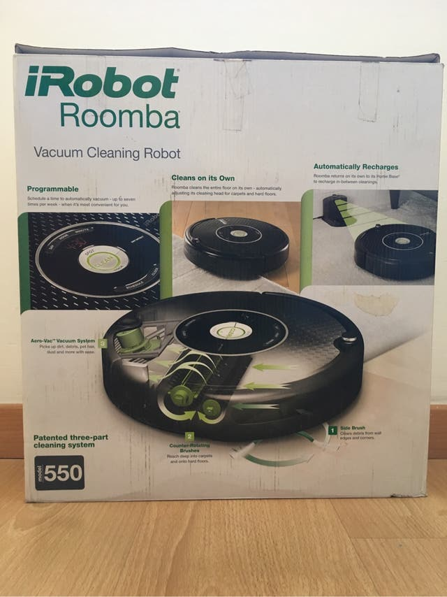 Robot aspirador Roomba 550