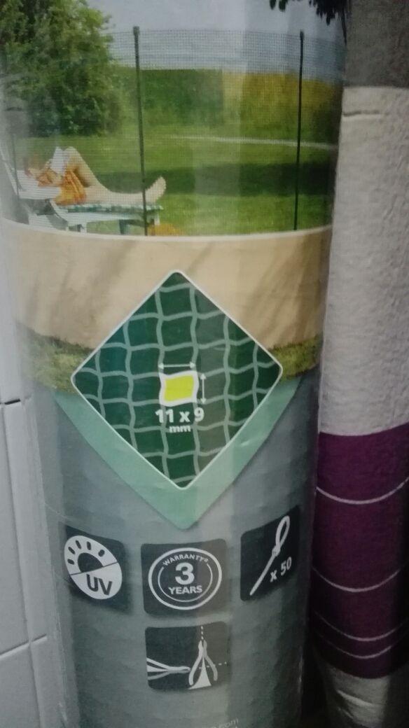 rejilla plastico verde