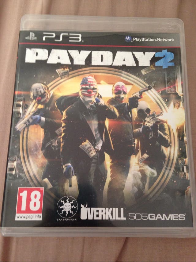 Juego payday 2 play station 3