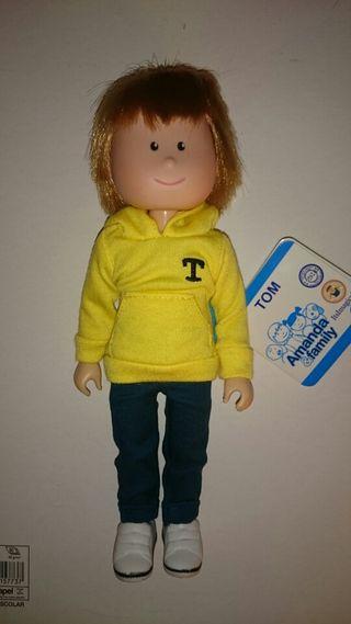 Muñeco Tom. Amanda Family Imaginarium
