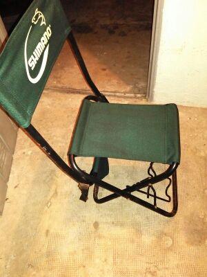 silla de pesca
