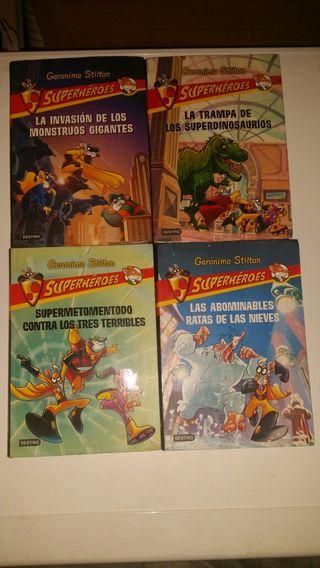 Geronimo stilton superheroes