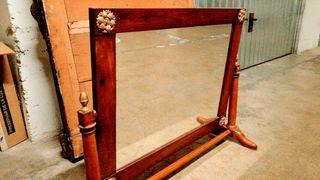 espejo basculante oscilante siglo xix