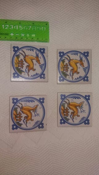 lote Azulejos sevillanos antiguos