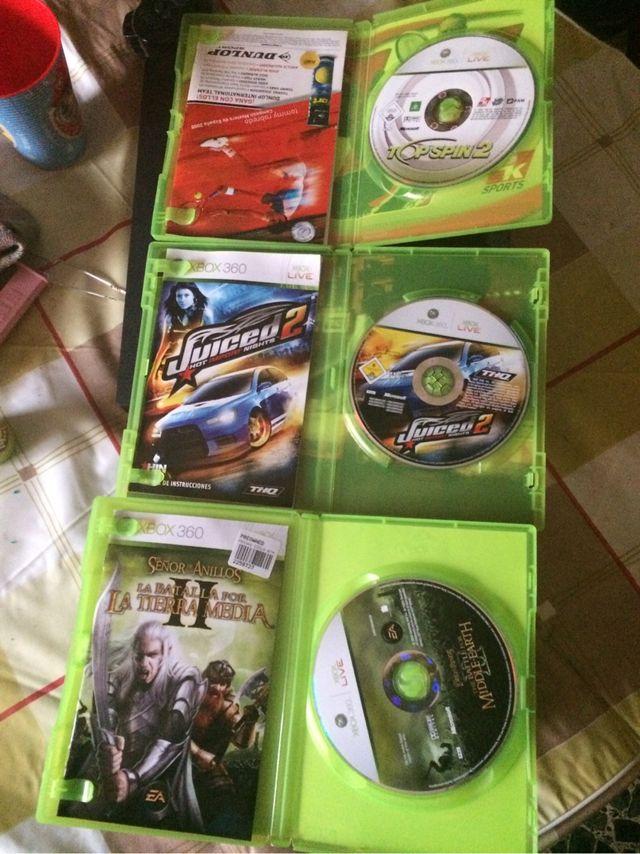 Juegos Xbox 360 en perfecto estado