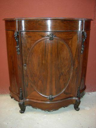 Mueble antiguo madera palosanto