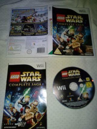 LEGO STAR WARS LA SAGA COMPLETA - WII