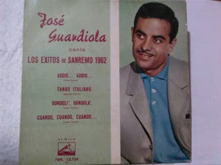 single vinilo Jose Guardiola