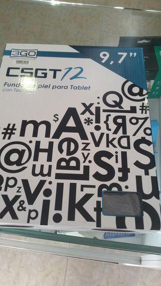 """funsa teclado piel para tablet 9'7"""""""