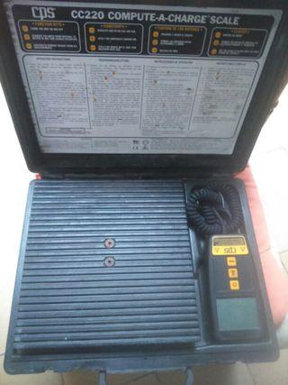 bascula digital para aire acondicionad