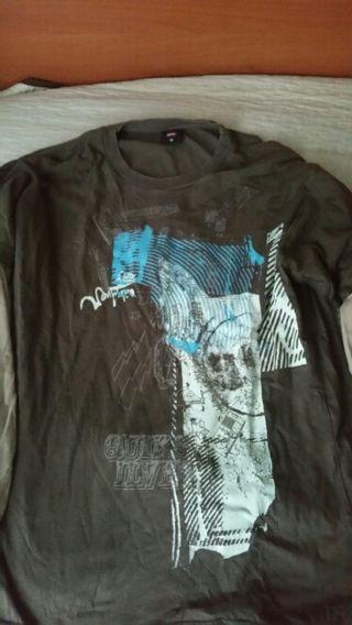 camiseta quicksilver talla M