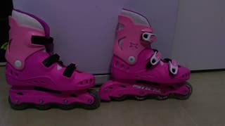 Patines mitical rosa