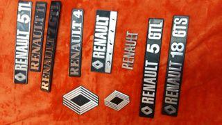 placas de las marca Renault
