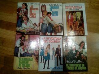 6 libros enyd blyton para niñas jovenes