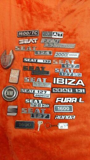 placas de modelos y marcas de vehículos antiguo