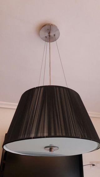 Lámpara techo y lamparitas a juego