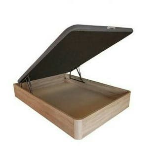 Canapé abatible de madera