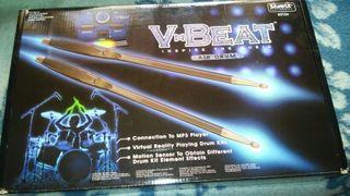 baquetas v beat air drum